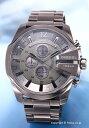 ディーゼル 腕時計 メンズ DIESEL Mega Chief Chronograph (メガチーフ クロノグラフ) オールガンメタル DZ4282【楽ギフ_包装】 02P28Sep16