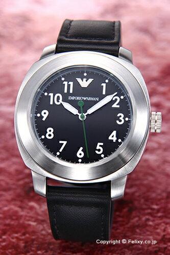 エンポリオアルマーニ 腕時計 メンズ EMPORIO ARMANI Sportivo Collection (スポーティボ コレクション) ブラック AR6057 【エンポリオ アルマーニ 時計 AR6057】【送料無料】
