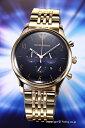 エンポリオアルマーニ 腕時計 メンズ EMPORIO ARMANI ベータ クロノグラフ ブラック×ゴールド AR1893