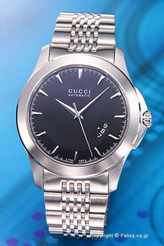 グッチ GUCCI メンズ腕時計 G-タイムレス ブラック YA126210 【】 グッチ 時計【送料無料】千葉県