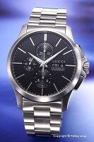 【GUCCI】グッチ腕時計G-TimelessNewAutomaticChronograph(G-タイムレスニューオートマティッククロノグラフ)ブラックYA126264