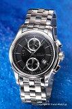 【エントリー購入でAMILTON / ハミルトン 腕時計 Jazz Master(ジャズマスター) クロノグラフ ブラック H32616133 【ハミルトン 時計】