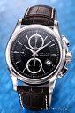 ハミルトン 腕時計 HAMILTON Jazz Master Auto Chrono(ジャズマスター オートクロノ) ブラック/ダークブラウンレザー メンズ H32616533