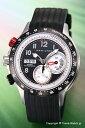 【HAMILTON】ハミルトン腕時計KhakiTachymiler(カーキタキマイラー)クロノグラフブラック/ブラックラバーストラップH71726333【ハミルトン時計】02P24Jan13