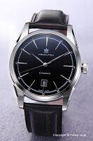 【HAMILTON】ハミルトン腕時計SpiritOfLiberty(スピリットオブリバティ)ブラック/ブラックレザーストラップH42415731