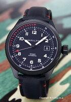 【HAMILTON】ハミルトン腕時計KhakiTakeoffAirZermatt(カーキテイクオフエアーツェルマット)オールブラックH76695733
