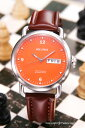 ジャックスペード 腕時計 メンズ JACK SPADE Stillwell (スティルウェル) オレンジ WURU0026 【あす楽】