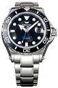 ケンテックス 腕時計 メンズ KENTEX S706M-21 マリーンマン シーホース2 ブラック