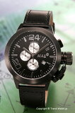 【MAX XL WATCHES】 マックス 腕時計 Special Edition Chronograph 47mm (クロノグラフ) オールブ...