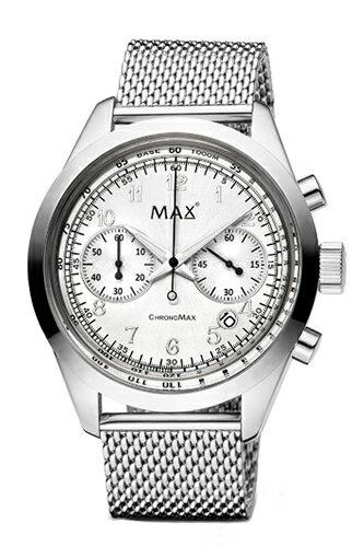 マックス 腕時計 MAX XL WATCHES The Chrono MAX (ザ クロノ マックス) シルバー 5-MAX664 【マックス 時計 5-MAX664】【MAX XL WATCHES】【送料無料】【正規代理店商品】