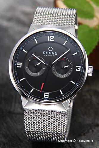 オバク 腕時計 メンズ OBAKU Denmark V170GMCBMC デイデイト 【】 【オバク 腕時計】【OBAKU V170GMCBMC】【送料無料】【国内正規代理店品】