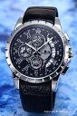 サルバトーレマーラ 腕時計 メンズ Salvatore Marra ブラック×シルバー SM13119S-SSBK