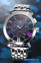 サルバトーレマーラ 腕時計 メンズ Salvatore Marra ブラック(マルチカラー) SM14107-SSBKCL