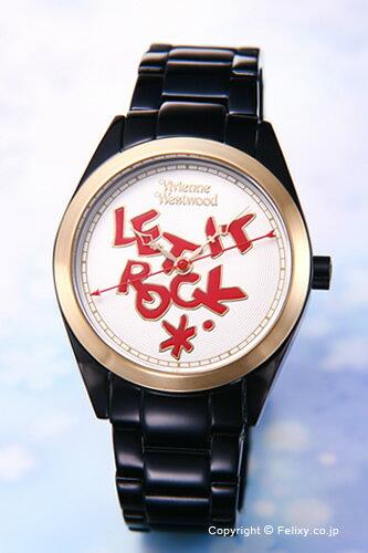 Vivienne Westwood / ヴィヴィアン ウエストウッド 腕時計 レディース VV072GDBK St Paul's (セイント ポール) ブラック×ゴールド ヴィヴィアンウエストウッド 時計 VV072GDBK ビビアンウエストウッド