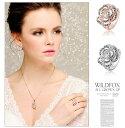 ブランドIUHA 18Kゴールドメッキ Piaget Roseピアジェ ローズ風バラデザイン リング 指輪 金属アレルギーと変色防止 アクセサリー ギフト