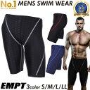 EMPT メンズ フィットネス水着   水泳 フィットネスに最適なスイムウェア/スポーツ 男性用