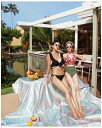 ショッピングネックストラップ 水着 レディース 水着 体型カバー ビキニ 大きいサイズ ビキニ 人気 盛れる リゾート 20代 30代 40代 美脚効果 足長 大人可愛い シンプル ストラップ フリル ベーシック 大人