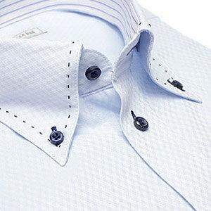 デザイン ワイシャツ ビジネス ステッチ