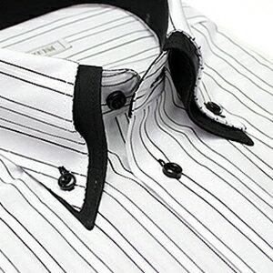 デザイン ワイシャツ ビジネス ストライプ