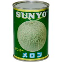 ショッピングサンヨー サンヨー メロン 4号缶 418円