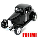1932 FORD FIVE WINDOW COUPE AMERICAN CLASSICS 1/18 blk 6900円【フォード 5ウィンドゥ クーペ ダイキ...