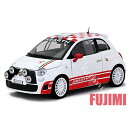 FIAT ABARTH 500 R3T wht 1/24 MOTOR MAX 3700円【ミニカー フィアット 白 アバルト ダイキャストカー DIE-CAST...
