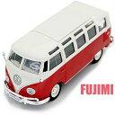 Volkswagen Van Samba red 1/25 Maisto 1851円【フォルクス ワーゲン,バン,バス,クラシカル,ダイキャストカー,ミニカー,タイプ2,サンバ bus 】