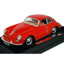 1961 PORSCHE 356B COUPE red 1/...