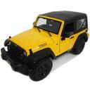 2014 Jeep Wrangler Yellow 1/18 Maisto 2777円 【 ジープ ラングラー 黄色 イエロー マイスト ダイキャストカー ミニカー オフロード SUV 】【150930】【コンビニ受取対応商品】