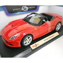 Ferrari California T ot red 1/18 Maisto 2686円【 フェラーリ カリフォルニア 赤 マイスト イタリア車 ミニカー ダ...