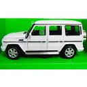 Mercedes-Benz G-Class White 1/24 Welly 3612円【 メルセデス ベンツ ゲレンデ ヴァーゲン 白 ホワイト ダイキャスト...