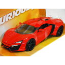 FAST AND FURIOUS Lykan Hyper Sport Red 1/24 JADA 3087円【 映画 ワイルド スピード Furious7 Wモ...