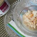 ナチュラルグルメ缶 絶品の組み合わせ チキンと小エビ ○