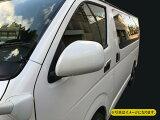 ハイエース 200系 S-GLタイプ ドアミラーカバー 純正色塗装済