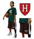 バスパン ハーバード大学 Burgundy/White ミニバス basketball college NCAA カレッジバスケットボールプラクティスパンツ 0905