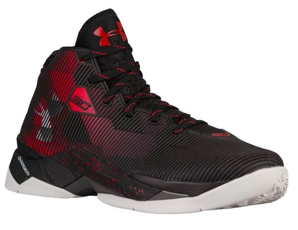 Under Armour Curry 2.5 メンズ Black/Red/Elemental アンダーアーマー バッシュ カリー2.5 Stephen Curry ステフィン・カリー