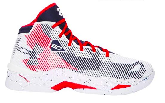Under Armour Curry 2.5 メンズ White/Midnight Navy/Red アンダーアーマー バッシュ カリー2.5 Stephen Curry ステフィン・カリー