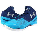 Under Armour Curry 2 'FATHER TO SON'メンズ Pacific/Europa Purple/White アンダーアーマー バッシュ ステフィンカリー