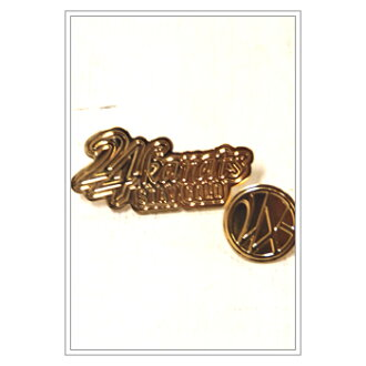 GOLD 24karats-Diggers Logo Pins (822129) 50% off!!