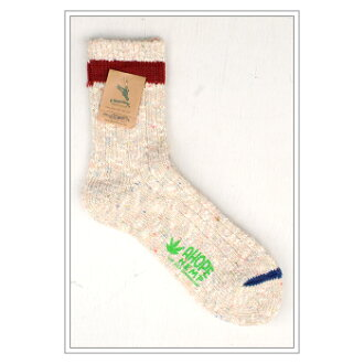 A HOPE HEMP line Middle mix socks