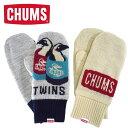 ショッピングチャムス CHUMS【チャムス】Cyclone Knit Mitten/サイクロンニットミトン 手袋【CH09-1192】
