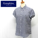 Gymphlex【ジムフレックス】フレンチスリーブ リネンBDシャツ Lady's【J-0645 LNP】20%OFF!!【楽ギフ_包装】【楽ギフ_メッセ入力】