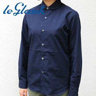 Le glazik round collar l/s shirt (autumn/winter 2012 100 / 2 BROAD) (JL-3299MIB) 40 Sierra
