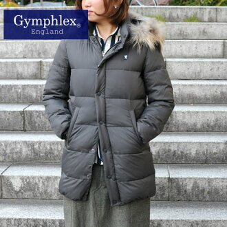 Down coat with fur GYMPHLEX (J-1023PL) 30 Sierra