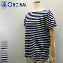 【10%OFF】 Orcival【オーチバル】ボートネック S/S Tシャツ Lady's【RC-6829】【楽ギフ_包装】【楽ギフ_メッセ入力】