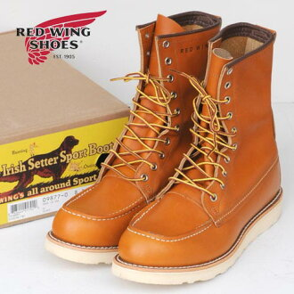 "RED WING Irish Setter Classic Work / 8 ""Moc-Toe (9877)"