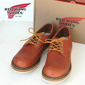 "RED WING Work/Oxford 6 ""Round-Toe Oro-Russet""Portage""(8001)"