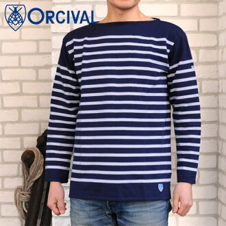 Orcival 2013 spring summer Men's shirt ラッセルボーダーバスク Men's ( 6101 )