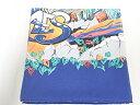 【中古B/標準】HERMES エルメス スカーフ THE ALFEE 25周年 ブルー レディース スカーフ 20218625