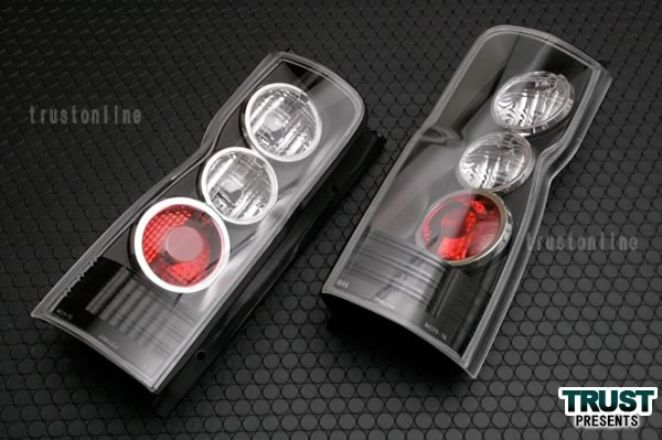 キャラバン テール E25系 テールランプ CARAVAN LED ユーロブラック 日産 nissan【テールランプ テール ランプ 車用品 カー用品 カスタム カスタマイズ パーツ 部品 led diy 日産 CARAVAN E25】